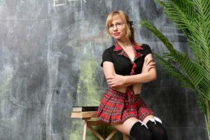 Populære skolepige uniformer til rollespil